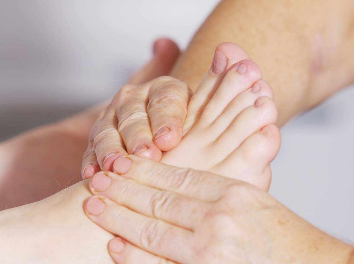 Podiatry for relief of foot pain